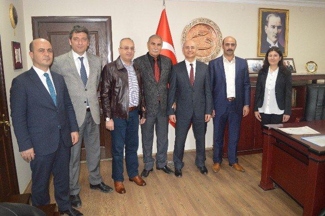 TÜİK Erzurum Bölge Müdürü Ahmet Gür, Erzincan Ticaret Ve Sanayi Odasını Ziyaret Etti