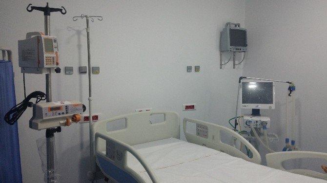 Lübnan'da Halba Dr. Abdullah Al Rasi Devlet Hastanesi'ne Yoğun Bakım Ünitesi Kuruldu