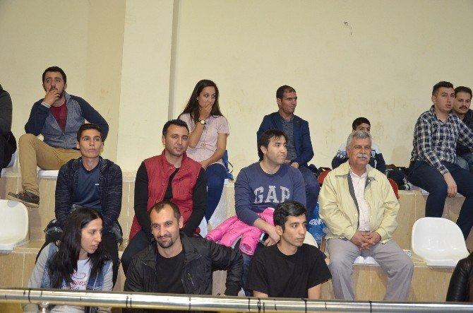 Kurumlararası Voleybol Turnuvasına Kaymakam Citer Katıldı