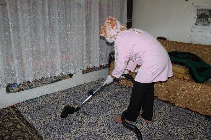 """Yavuzeli SYDV """"Yaşlı Bakımı Ve Temizliği Projesi"""" Başladı"""