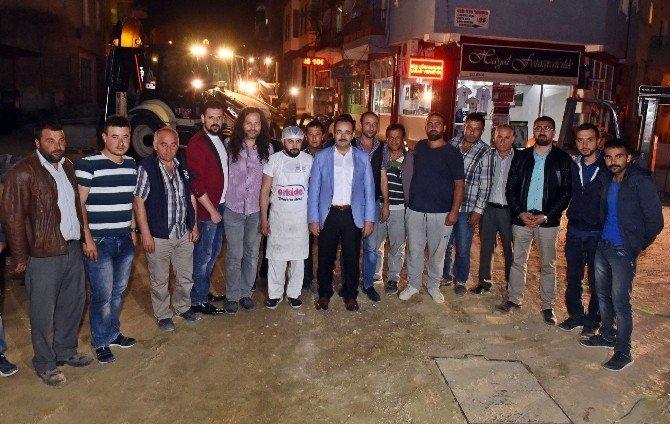 Uşak Belediyesi'nin Yol Hizmetleri 24 Saate Çıktı