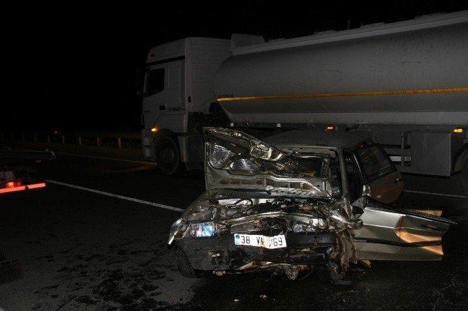 Yozgat'ta Trafik Kazası: 1 Ölü, 1 Yaralı
