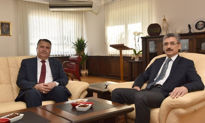 Başkan Çerçi'den Emniyet Müdürü Bilgiç'e 'Hayırlı Olsun' Ziyareti