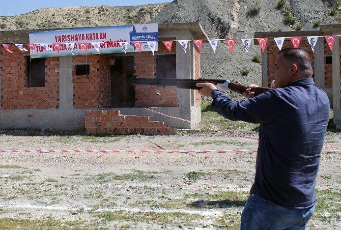 Ceyhan'da Trap Atış Ve TEK Kurşun Yarışması