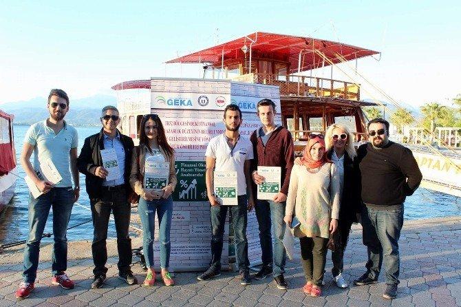 Üniversiteliler Aydın, Denizli Ve Muğla'nın İlçelerini Taradı