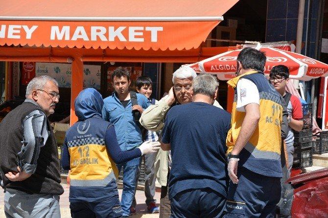 Bafra'da Kaza: 2 Yaralı