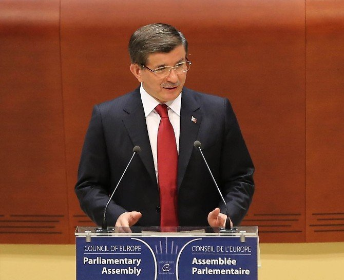 Davutoğlu AKPM Genel Kurulu'na Hitap Etti