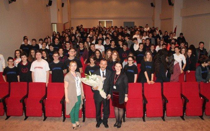 Baro Başkanından Öğrencilere Hukuk Dersi