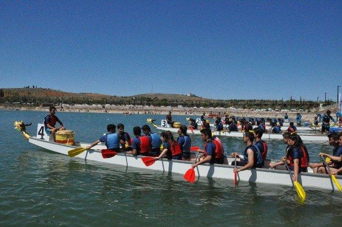 Su Sporları Festivali Dragon Kano Yarışları