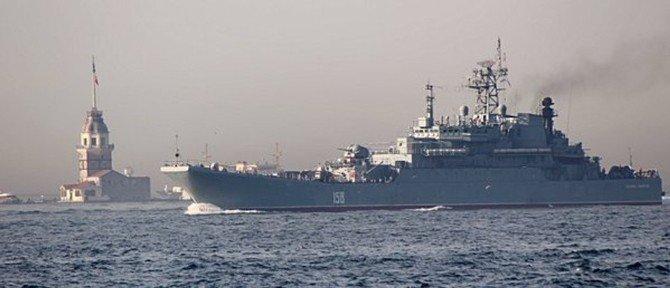 Rus Gemisi Boğaz'dan Geçerken Askerler Sipere Yattı