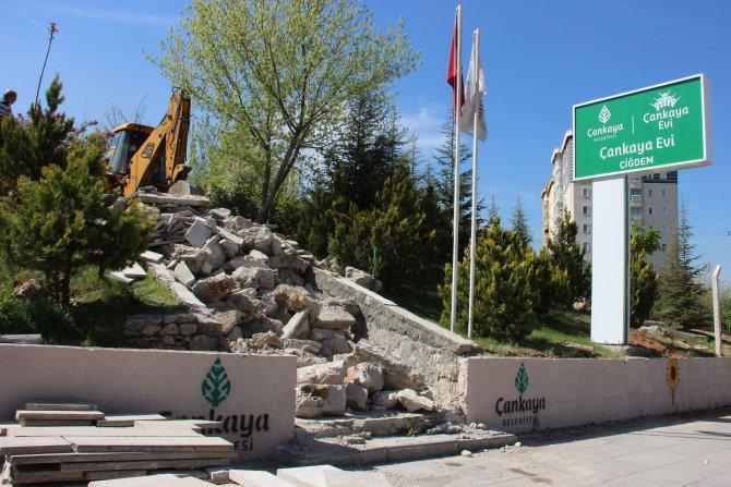 Çankaya Belediyesi, Çiğdem Spor Tesisleri yapımına başladı