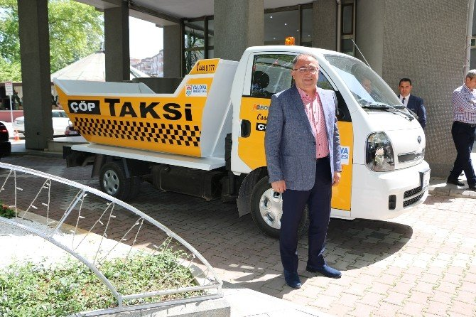 Çöp Taksi Yalovalıların Hizmetine Girdi