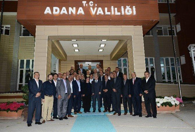 Mahalle Muhtarlarını Ankara'ya Vali Büyük Uğurladı