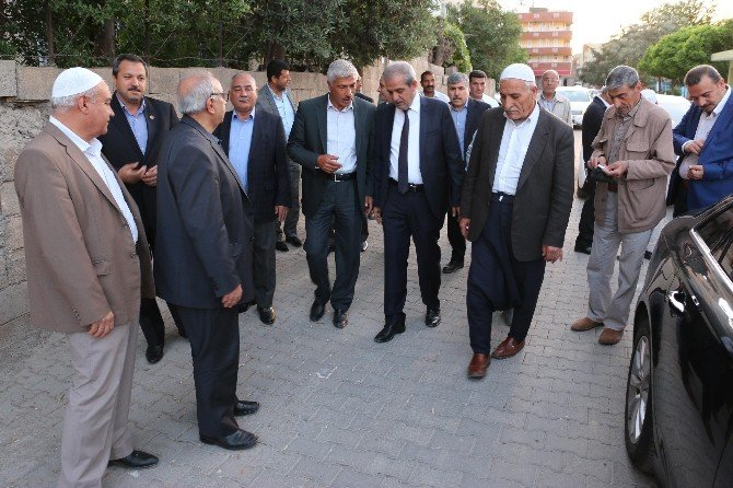 Demirkol, Abdurrahman İbni Ayf Caminin Açılışına Katıldı