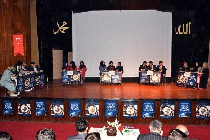 Çorum'da İmam Hatip Liseleri Arasında Siyer-i Nebi Yarışması