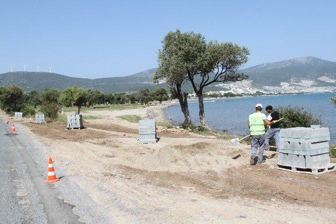 Didim Fevzi Paşa Mahallesinde Üst Yapı Çalışmaları Başlattı