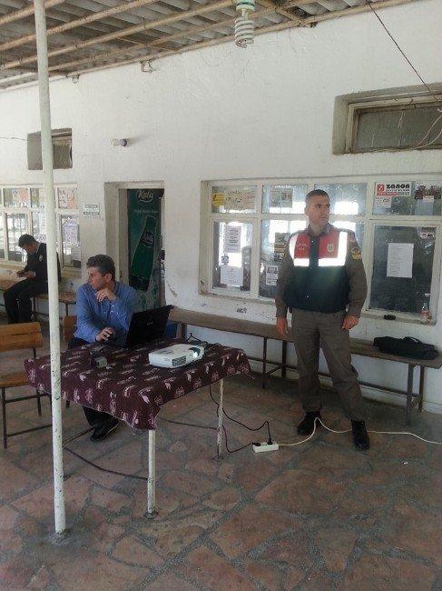Didim'li Çiftçilere Ekim Sezonu Öncesinde Trafik Eğitimi Verildi