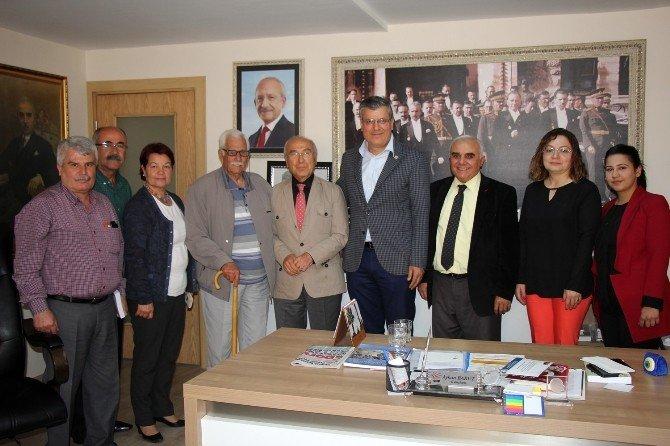 Aytaç Durak'tan CHP'ye Ziyaret