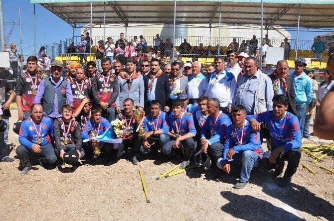 Uşak'taki Cirit Şampiyonası Sona Erdi