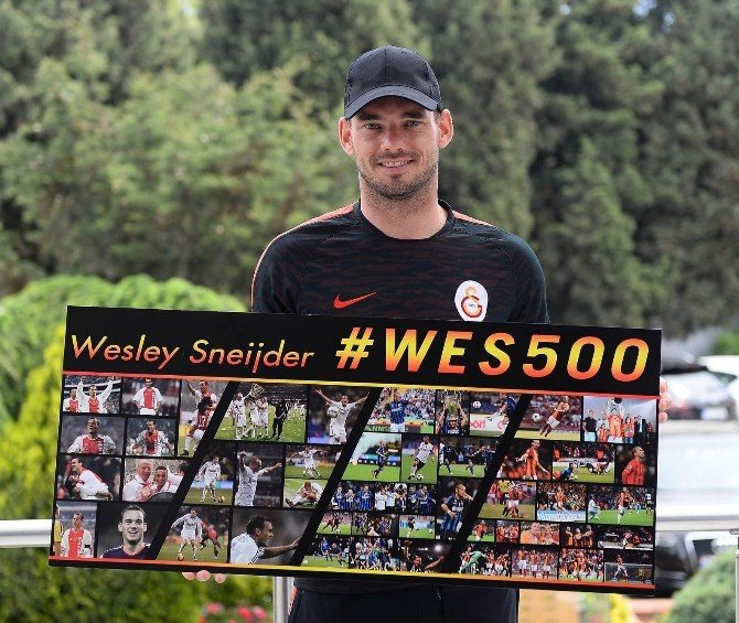 Wesley Sneıjder 500. Maçına Çıkıyor