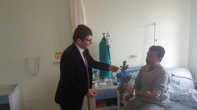Müftü İmamoğlu'ndan Hastalara Ziyaret