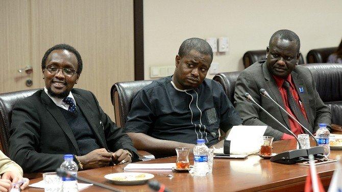 Afrikalı Gazetecilerden YTB'ye Ziyaret
