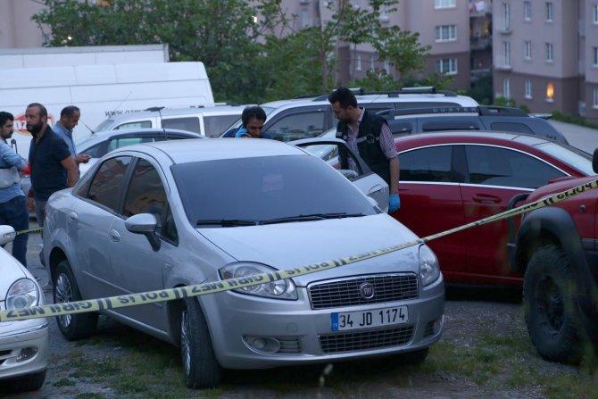 Polis otobüsüne saldıran zanlıların aracı bulundu