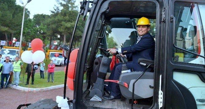 Kepez Belediyesi'ne 6 Milyon TL Değerinde 38 Yeni Araç