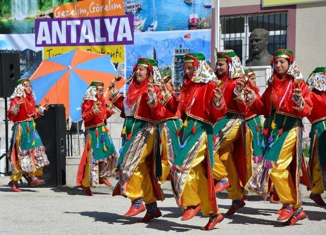 Korkuteli'de Turizm Haftası Törenlerle Kutlandı
