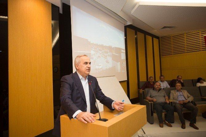 """Kösemusul: """"Galericiler Sitesi Şehrimize Çok Yakışacak"""""""