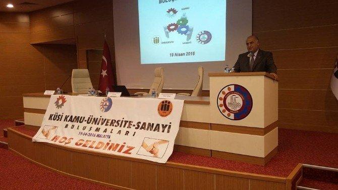 Malatya'da, Kamu, Üniversite, Sanayi İşbirliği (Küsi) Toplantısı Düzenlendi