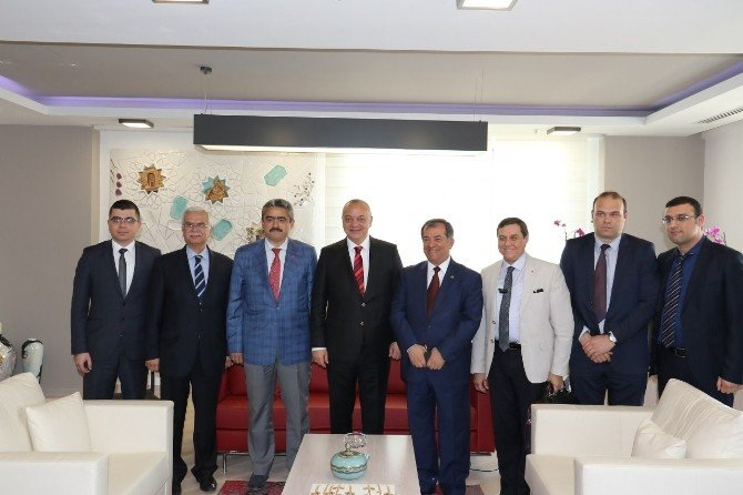 Nazilli Belediye Başkanı'ndan Başkan Ergün'e Ziyaret