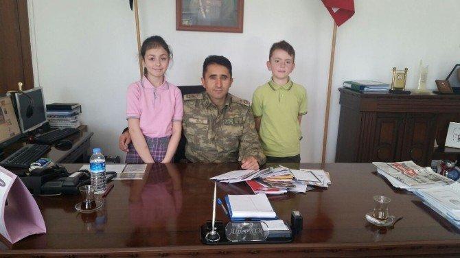 Bozüyüklü Çocuklardan Güneydoğu'daki Askerlerimize Mektup Var