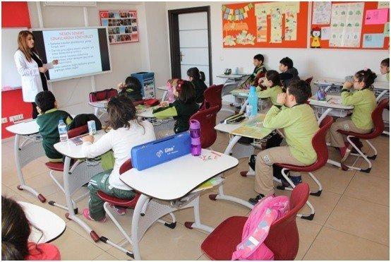 Öğrencilere Test Çözme Teknikleri Anlatıldı