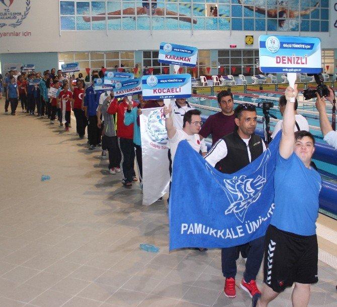 Özel Sporcular Türkiye Yüzme Şampiyonası Start Aldı