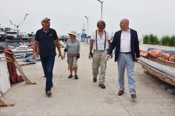 İstanbul'dan Çanakkale'ye Kürek Çekerek Giden Ekip Süleymanpaşa'ya Ulaştı