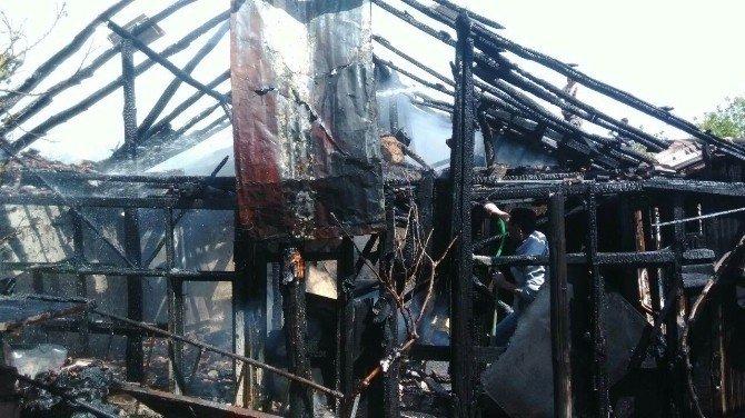 Kulu'da Samanlık Yangını