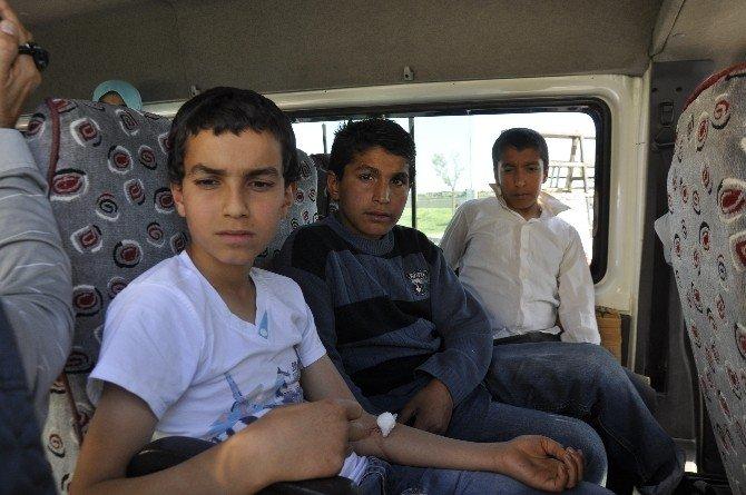 Siverek'te 25 Öğrenci Gıda Zehirlenmesi Şüphesiyle Hastaneye Kaldırıldı