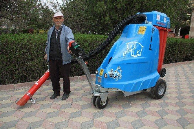 Sorgun Belediyesi Vakumlu Portatif Çöp Aracı Aldı