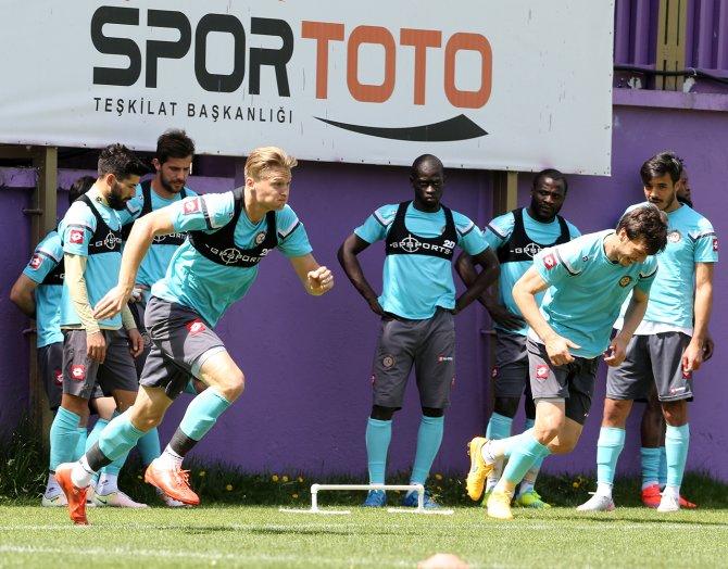 Osmanlıspor, Antalyaspor maçının hazırlıklarını sürdürüyor