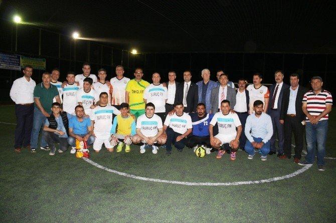 Suruç'ta Düzenlenen Futbol Turnuvasına Büyük İlgi