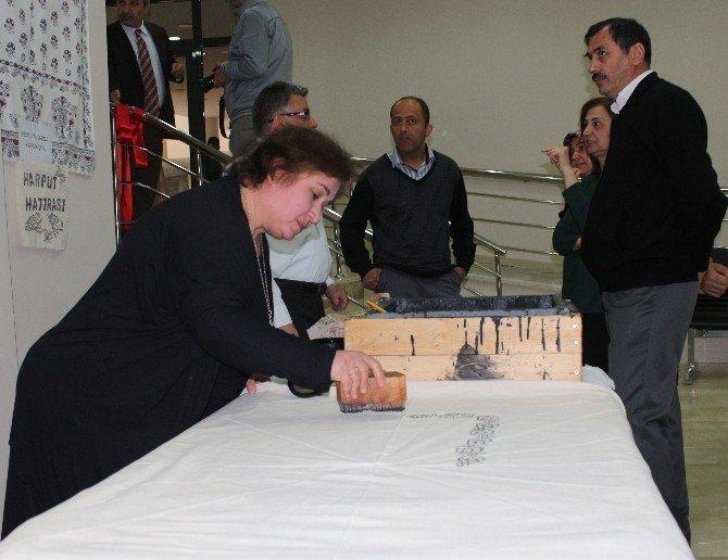 Elazığ'ın Fotoğrafları Ve El Emekleri Sergilendi