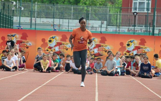 Dünyanın en hızlısı, 'Türkiye'nin En Hızlısı Yarışları' için koştu