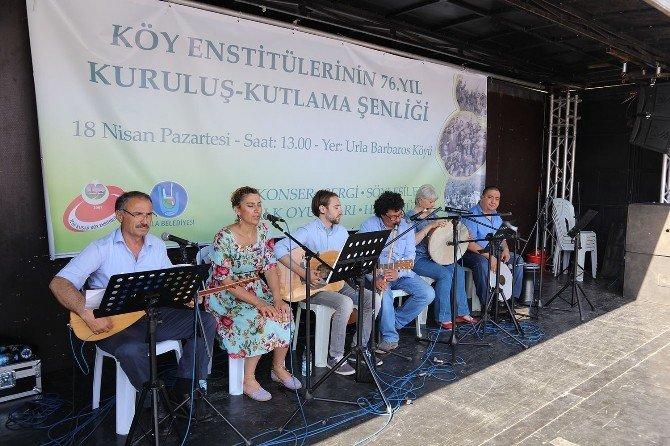 Köy Enstitülerinin Kuruluşunun 76. Yılı Urla'da Kutlandı