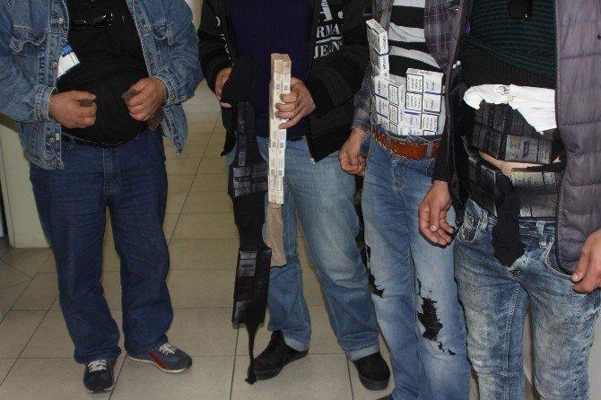 Sigara Kaçakçıları Sınır Tanımıyor