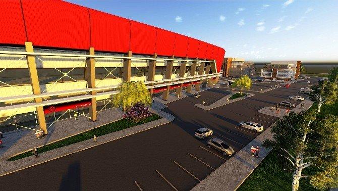 Çorum'a 15 Bin Kişi Kapasiteli Yeni Stadyum