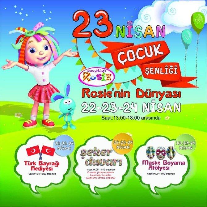 23 Nisan'da Çocuklar İçin Özel Etkinlikler