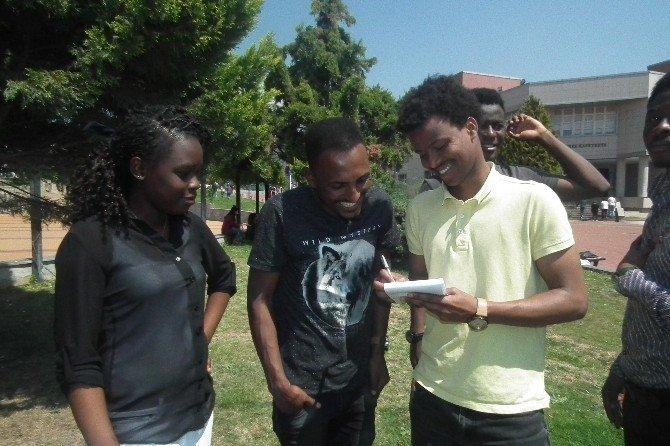 Afrikalı Barış Elçileri Aydın'da Staj Yapmak İstiyor