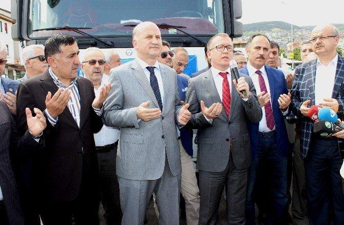 AK Parti Bursa İl Teşkilatından Hakkari'ye Yardım Tır'ı