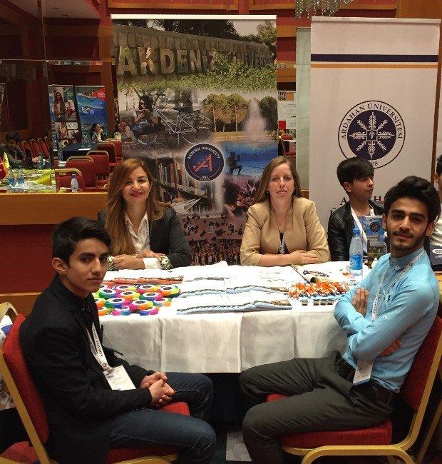 Akdeniz Üniversitesi Bakü Eğitim Fuarı'nda